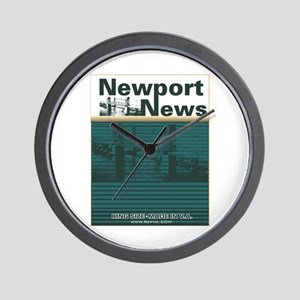 Newport News 2 Wall Clock