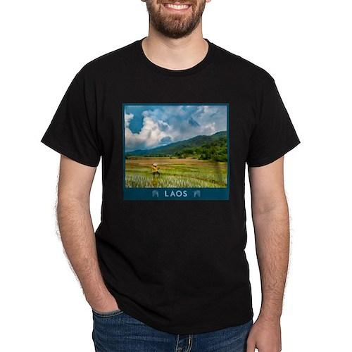 Visit Laos - Rice Paddy T-Shirt