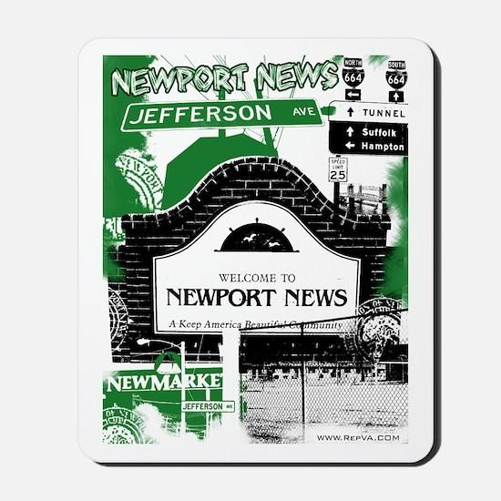 Newport News 3 Mousepad