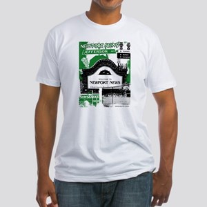 Newport News 3 Fitted T-Shirt
