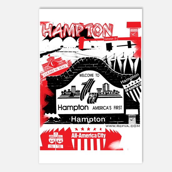 Hampton 2 Postcards (Package of 8)