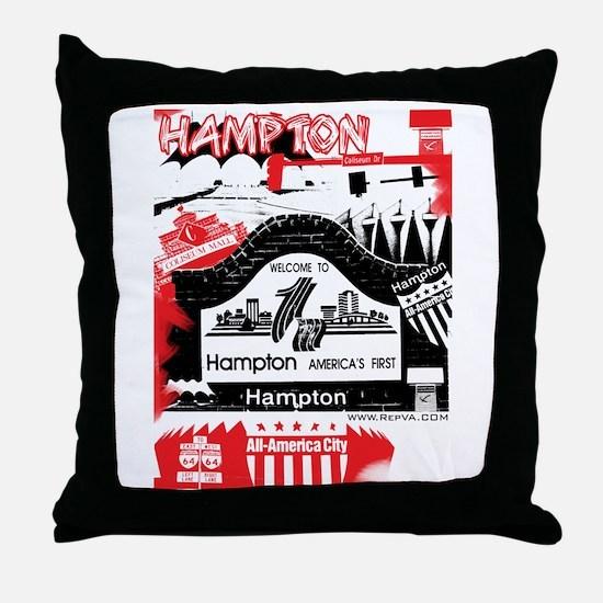 Hampton 2 Throw Pillow