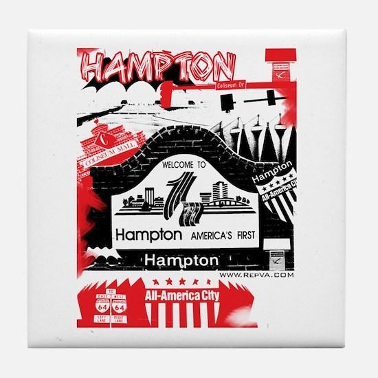 Hampton 2 Tile Coaster