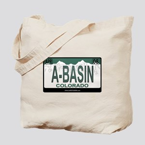 A-Basin Plate Tote Bag