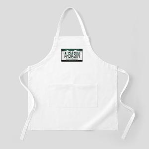 A-Basin Plate BBQ Apron