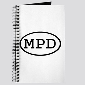 MPD Oval Journal