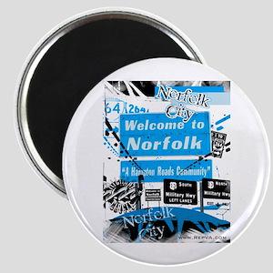 Norfolk 2 Magnet