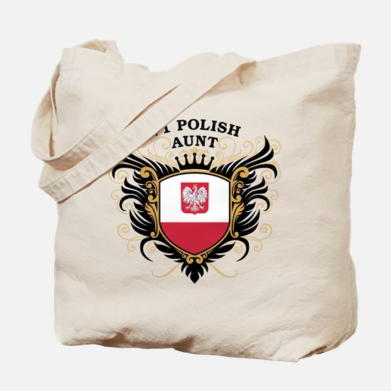 Number One Polish Aunt Tote Bag