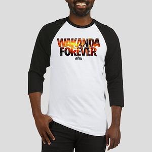 Black Panther Wakanda Forever Baseball Tee