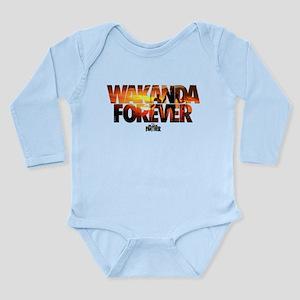 Black Panther Wakanda Long Sleeve Infant Bodysuit