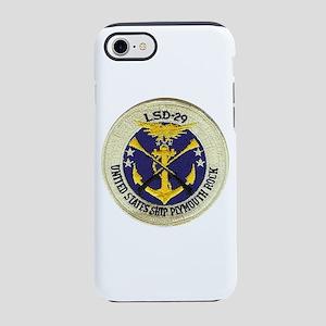 USS PLYMOUTH ROCK iPhone 8/7 Tough Case