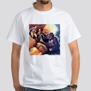 Gorillas White T-Shirt