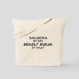 Salsera Deadly Ninja by Night Tote Bag