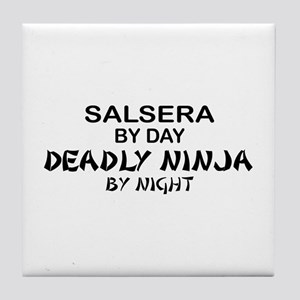 Salsera Deadly Ninja by Night Tile Coaster