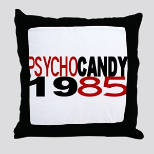 PSYCHO CANDY 1985 Throw Pillow