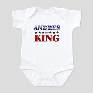 ANDRES for king Infant Bodysuit