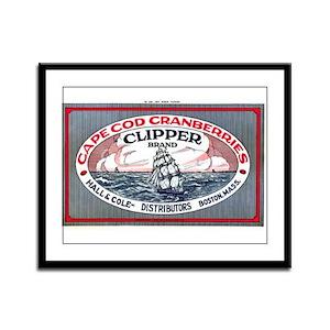 Cape Cod Cranberries Framed Panel Print