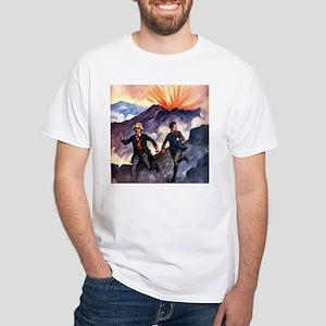 Volcano White T-Shirt