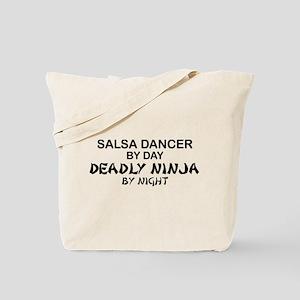 Salsa Dancer Deadly Ninja by Night Tote Bag