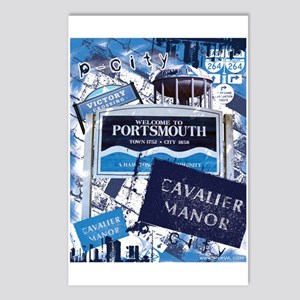Portsmouth 3 Postcards (Package of 8)