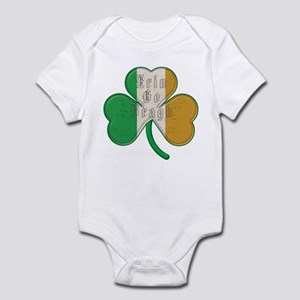 The Erin Go Braugh Irish Shamrock Infant Bodysuit