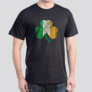 The Erin Go Braugh Irish Shamrock Dark T-Shirt