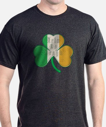 The Erin Go Braugh Irish Shamrock T-Shirt