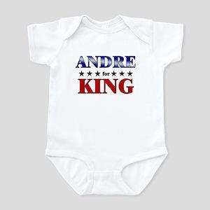 ANDRE for king Infant Bodysuit