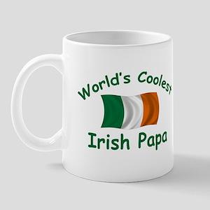 Coolest Irish Papa Mug