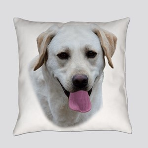 Young Lab Portrait Everyday Pillow