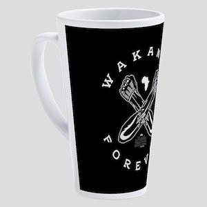 Black Panther Wakanda Forever 17 oz Latte Mug