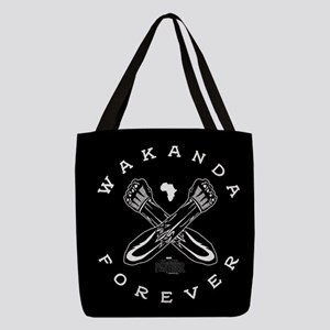 Black Panther Wakanda Forever Polyester Tote Bag