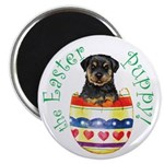 Easter Rottweiler Magnet