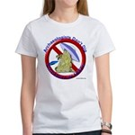 Archs Don't Dig Dino Or UFO'S Women's T-Shirt