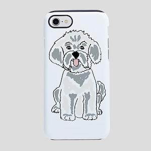 Cute Bichon Frise Dog iPhone 8/7 Tough Case