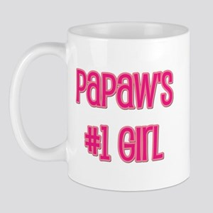 Papaw's #1 Girl Mug