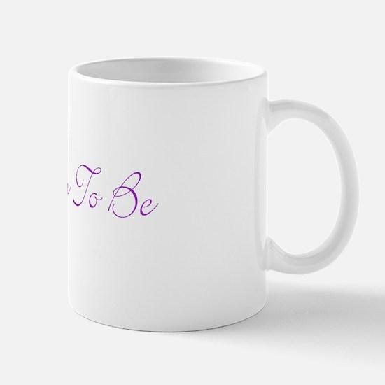 adoptive mom (purple writing) Mug