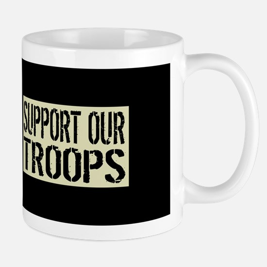 U.S. Military: Support Our Troop Mug