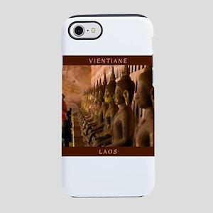Visit Laos - Vientiane iPhone 8/7 Tough Case