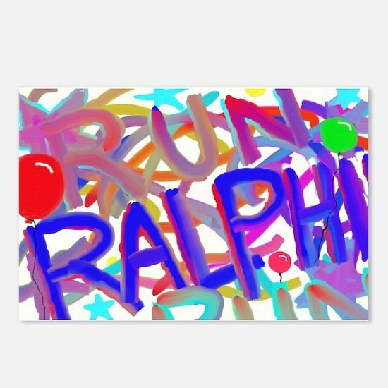 Run Ralphie Run Postcards (Package of 8)