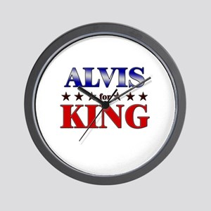ALVIS for king Wall Clock