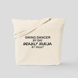 Swing Dancer Deadly Ninja Tote Bag