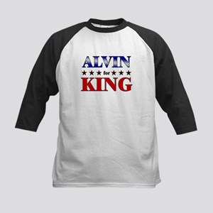 ALVIN for king Kids Baseball Jersey