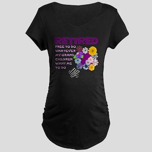 Retired Maternity T-Shirt