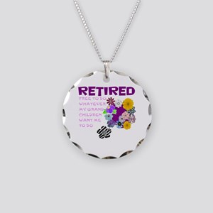 Retired Necklace Circle Charm