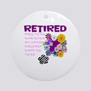 Retired Round Ornament