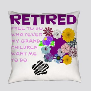Retired Everyday Pillow