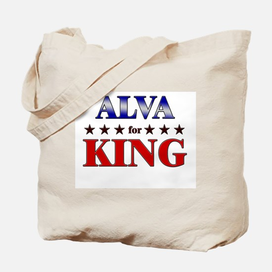 ALVA for king Tote Bag