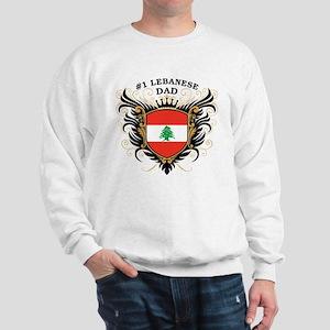 Number One Lebanese Dad Sweatshirt