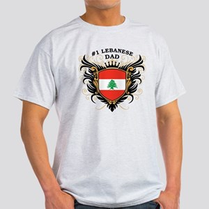 Number One Lebanese Dad Light T-Shirt
